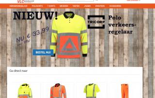 screenshot webshop